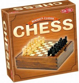 Wooden Classic. Szachy - zdjęcie zabawki, gry