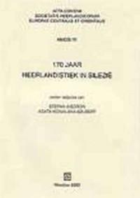 170 jaar neerlandistiek in Silezië (170 jaar neerlandistiek in Silezie) - okładka książki
