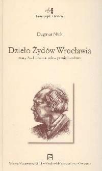 Dzieło Żydów Wrocławia. Stary Asch - okładka książki
