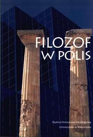 Filozof w polis - okładka książki