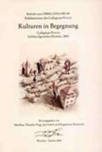 Kulturen in Begegnung - okładka książki