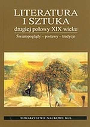 Literatura i sztuka drugiej połowy - okładka książki