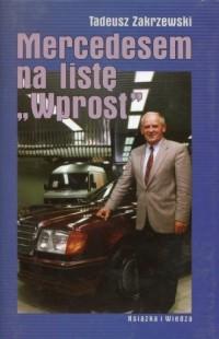 Mercedesem na listę Wprost - okładka książki