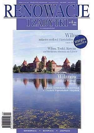 Renowacje i zabytki 04/2005 - okładka książki