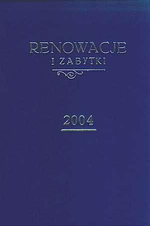 Renowacje i zabytki (numery 1-4 - okładka książki