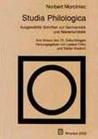 Studia Philologica. Ausgewahlte Schriften zur Germanistik und Niederlandistik - okładka książki