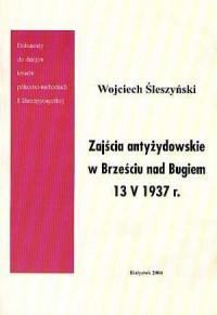 Zajścia antyżydowskie w Brześciu - okładka książki