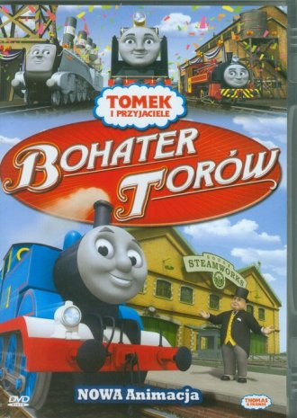 Tomek i przyjaciele. Bohater torów (DVD)
