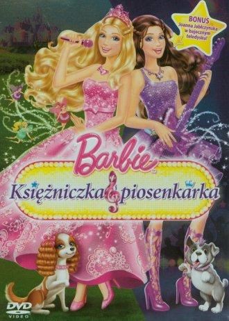 film -  Barbie. Ksi�niczka i piosenkarka (DVD) - Wydawnictwo TiM Film Studio