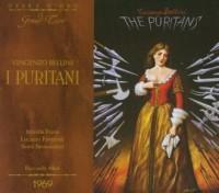 Bellini: I Puritani - okładka płyty