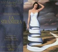 Bellini: La Straniera - okładka płyty