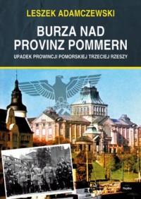 Burza nad provinz Pommern - okładka książki
