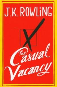 Casual Vacancy - okładka książki