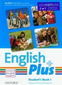 English Plus 1. Gimnazjum. Podręcznik - okładka podręcznika