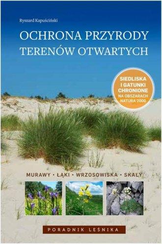 Ochrona przyrody terenów otwartych. - okładka książki