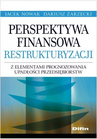 Perspektywa finansowa restrukturyzacji - okładka książki