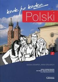 Polski krok po kroku A2 (+ CD) - okładka podręcznika
