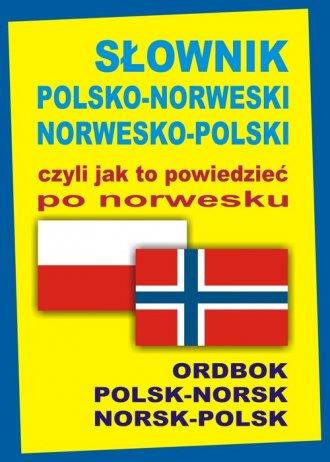Słownik polsko-norweski, norwesko-polski - okładka podręcznika