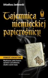 Tajemnica niemieckiej papierośnicy - okładka książki