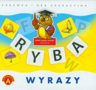 Wyrazy. Zabawka i gra edukacyjna - zdjęcie zabawki, gry
