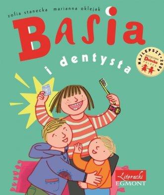 Basia i dentysta - okładka książki