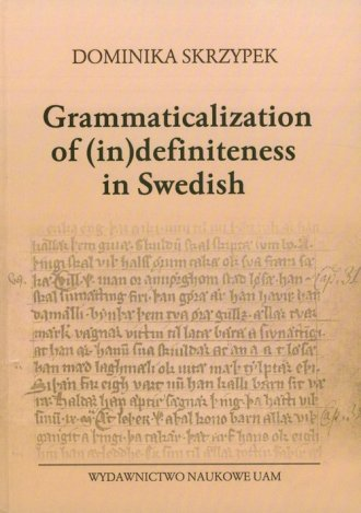 Grammaticalization of (in) definiteness - okładka książki