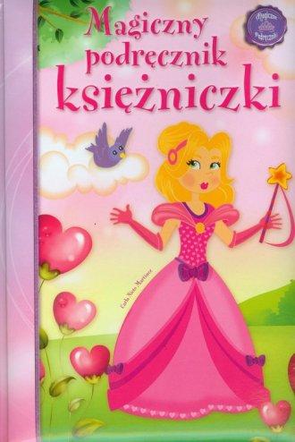 Magiczny podręcznik księżniczki - okładka książki