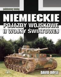 Niemieckie pojazdy wojskowe II - okładka książki