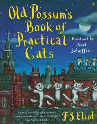 Old Possums Book of Practical Cats - okładka książki