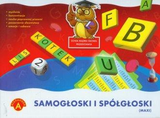 Samogłoski i spółgłoski maxi - zdjęcie zabawki, gry
