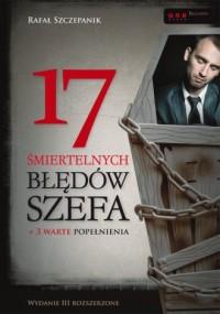 17 śmiertelnych błędów szefa - okładka książki