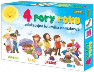 4 pory roku. Edukacyjna loteryjka - zdjęcie zabawki, gry