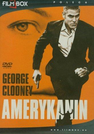Amerykanin (DVD) - okładka filmu