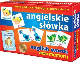 Angielskie słówka. Memory - zdjęcie zabawki, gry