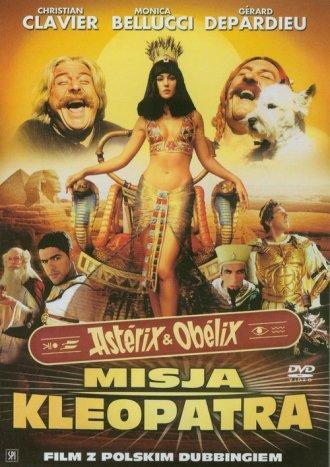 Asterix i Obelix: Misja Kleopatra - okładka filmu