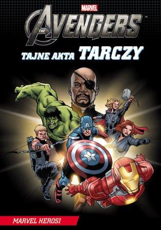 Avengers. Tajne akta Tarczy - okładka książki