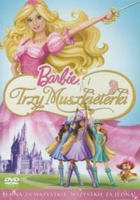 Barbie i trzy muszkieterki (DVD) - okładka filmu