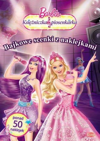 Barbie Księżniczka i piosenkarka. - okładka książki
