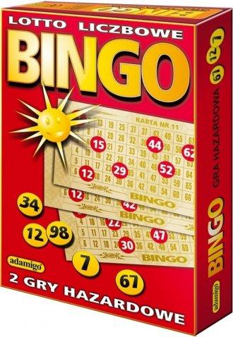 Bingo / Lotto liczbowe - zdjęcie zabawki, gry