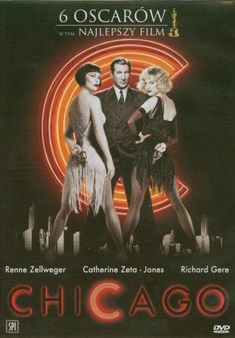 Chicago (DVD) - okładka filmu