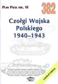 Czołgi Wojska Polskiego 1940-1943 - okładka książki