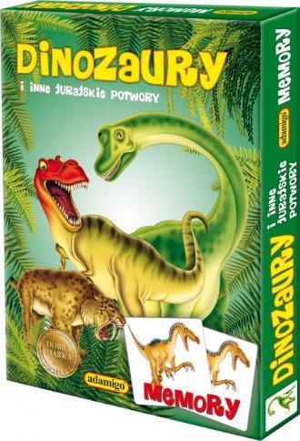 Dinozaury i inne jurajskie potwory. - zdjęcie zabawki, gry