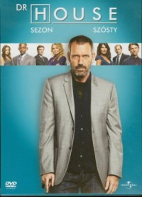 Dr House. Sezon 6 (DVD) - okładka filmu