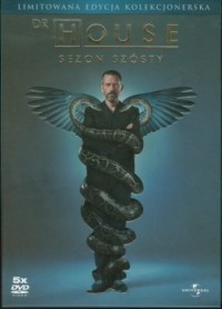 Dr House - Sezon 6 (DVD) - okładka filmu