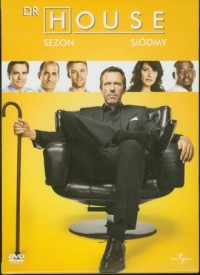 Dr House. Sezon 7 (DVD) - okładka filmu