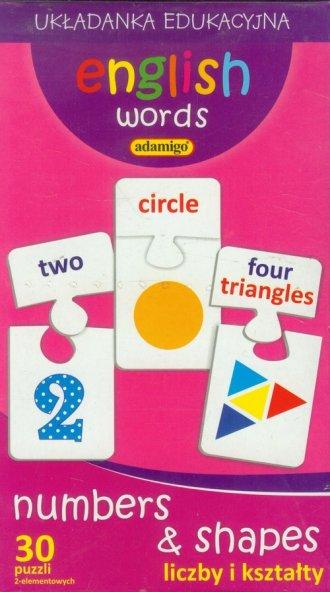 English words. Liczby i kształty. - zdjęcie zabawki, gry