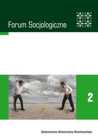 Forum socjologiczne 2. Wokół problemów - okładka książki