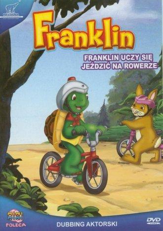 Franklin. Franklin uczy się jeździć - okładka filmu