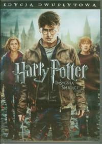 Harry Potter i insygnia śmierci (DVD) - okładka filmu