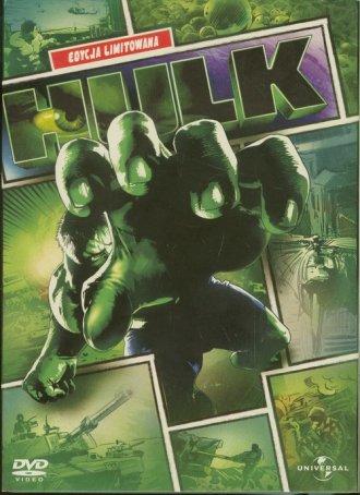 Hulk (DVD) - okładka filmu